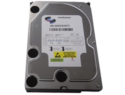 White Label 200GB 8MB Cache 7200RPM SATA 3.5